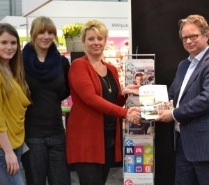 Cigo Vermeulen winnaar citytrip op Stationery Office & Convenience Days