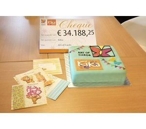 Art of Cards zamelt bijna € 35.000 in voor Kika