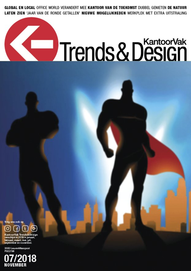 KantoorVak Trends & Design november-december 2018