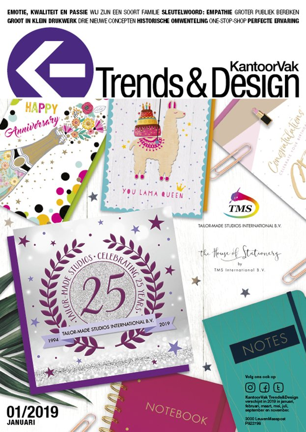 KantoorVak Trends & Design januari-februari 2019